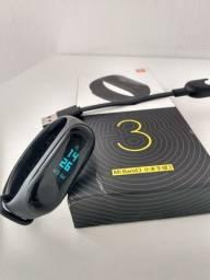 Relógio smartwatch xiaomi miband 3