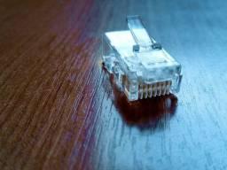 200 unidades do conector rj45 cat6 para cabo de rede