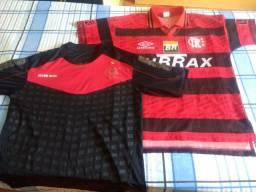 Combo! Duas camisas originais do Flamengo