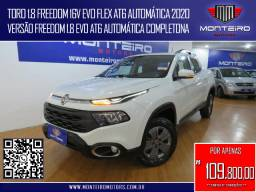 Fiat Toro 1.8 Freedom 16v EVO Flex AT6 Automática Completa C/ Multimídia