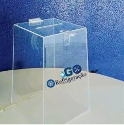 Título do anúncio: Urnas para cupons acrilico ou PVC