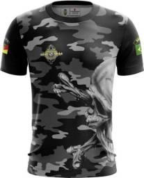 Camiseta Camisa Coe Brigada Militar-cor (uso Liberado)