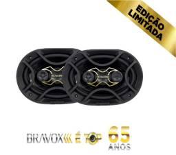 Alto Falante 6x9 Bravox Linha Gold 140w RMS B4X69G Edição Limitada