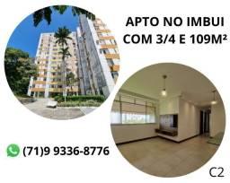 Título do anúncio: Pronto para você morar, apartamento no Imbui, 3/4, 109m². (C2) Novo
