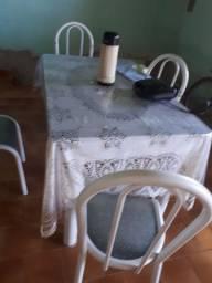 Jogo de mesa granito 4 cadeiras