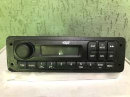 Som mp3 + moldura original Fiat Uno