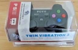 Controle PS3 - Playstation 3 - Wireless / Sem fio - Novo