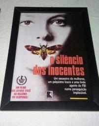 Quadro O Silencio dos Inocentes