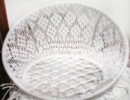 Título do anúncio: Cadeira Suspensa em Macramê com corda nautica