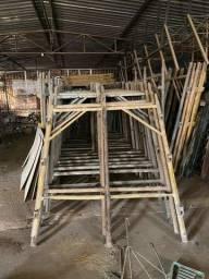 Estrutura Para Elevador de Obras