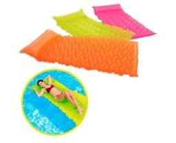 Título do anúncio: Boia colchão inflável para piscina praia infantil adulto