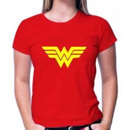 blusa mulher maravilha camiseta feminina mulher maravilha