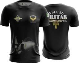 Camiseta Camisa Aviação Militar Fab-ava  (uso Liberado)