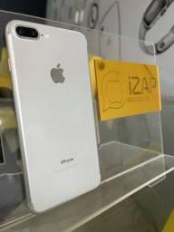 Título do anúncio: iPhone 7 Plus 32GB prata (perfeito estado ) capinha e película grátis