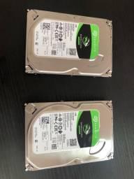2 HDs Seagate 1 TB/cada