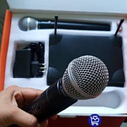 Microfone profissional dinâmico LE-906 entregamos