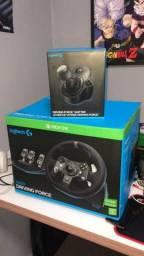 Título do anúncio: Logitech G920 + Cambio pc ou Xbox One