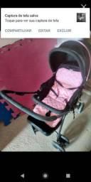 carrinho de bebê, enxoval para berço. 200,00