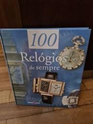 Livro 100 Relógios de Sempre - Original Capa Dura