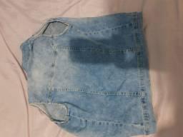 Colete jeans infantil