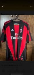 Camisa Milan 2010/2011 S/n Tamanho G