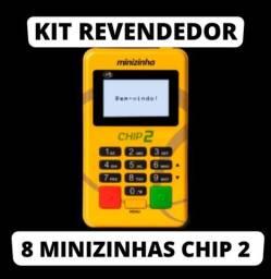 Título do anúncio: 8 unidades em atacado, pagseguro, minizinha chip2