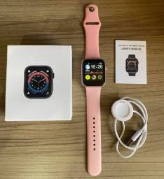 Título do anúncio: Smart Watch Iwo 13 Max 2.0 Rose Novo na Caixa Original (aceito cartão )