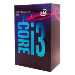 Processador Intel Core I3 8100 Coffee Lake, 3.6ghz, 8ª Geração, LGA 1151