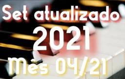 Set completo 2021 teclado (Korg) atualizado mês 04/21