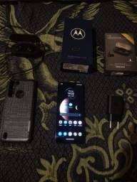 Moto One Fusion + Fone Bluetooth Vendo Ou Troco