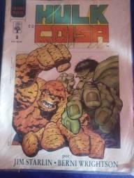 Título do anúncio: Grafic Novel Hulk & Coisa