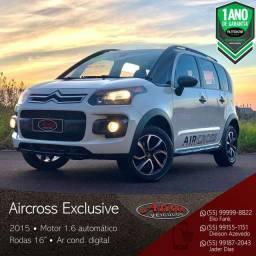 Citroën - Aircross Exclusive 1.6 Aut. - 2015