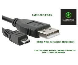 Título do anúncio: Cabo USB 8 Pinos Câmeras Digitais