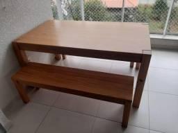 Mesa para área gourmet ou churrasqueira TokStok