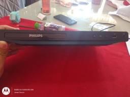 Título do anúncio: DVD Philips com caraoquê