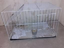 Troco gaiola de coelho por uma de hamister