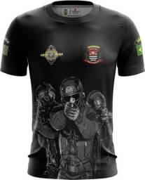 Camiseta Camisa Admirador Policia Civil - Pc (uso Liberado)