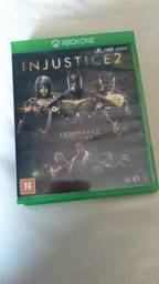 Título do anúncio: jogo original injustice 2 xbox one