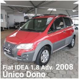Título do anúncio: Fiat Idea 1.8 Adv. 2008 Único Dono!
