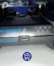 Título do anúncio: controle PS3, faço entrega