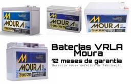 Baterias AGM VRLA Moura 12 meses de garantia