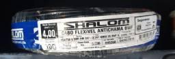 Cabo flexível de 4mm marca shalon