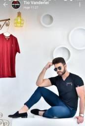 Moda masculina Camisetas fio 30