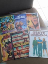 DVDs diversos. 130 dvds
