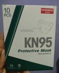 Kn 95 Mask (10 Máscaras brancas)