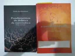 Livros de Ensino de Matemática.