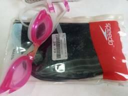 Título do anúncio: Touca e óculos de nadar