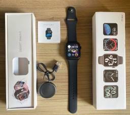 Título do anúncio: Smart Watch HW22 Série 6 Cor Preto 44mm Novo Original (aceito cartão)