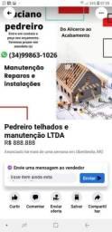 Título do anúncio: Telhados manutenção reformas construçãoes em geral