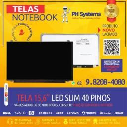 Telas P/ Notebooks vários tamanhos e modelos, Novas com Garantia a pronta Entrega!
